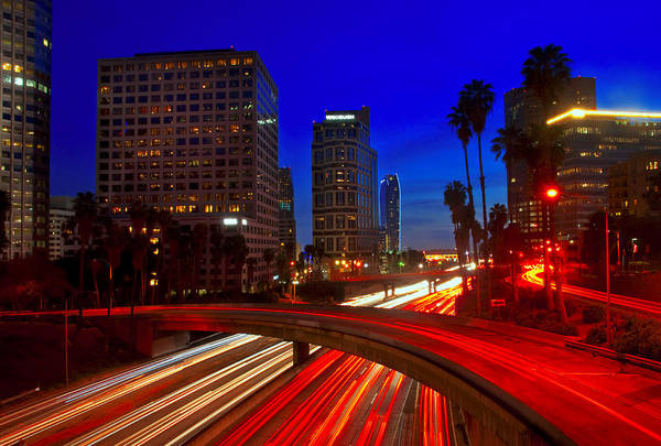 Photograph - Rush Hour Blue by Darren Bradley