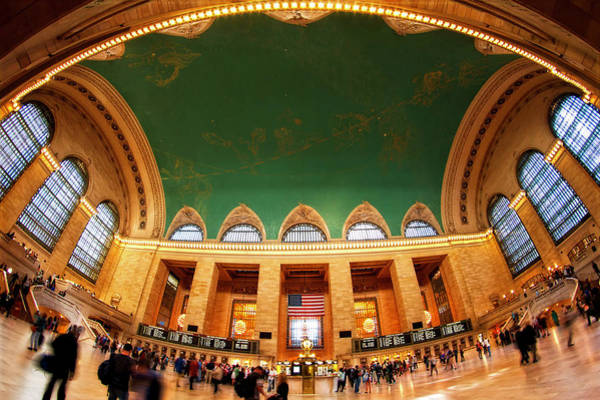 Rush Hour Photograph - Rush Hour In Grand Central Station, New by Raqeebul Ketan