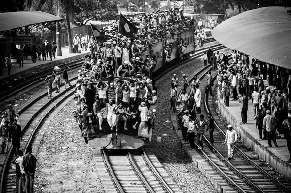 Wall Art - Photograph - Rush Hour by Mirza Zahidul Alam