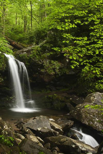 Grottos Photograph - Rushing Falls by Andrew Soundarajan