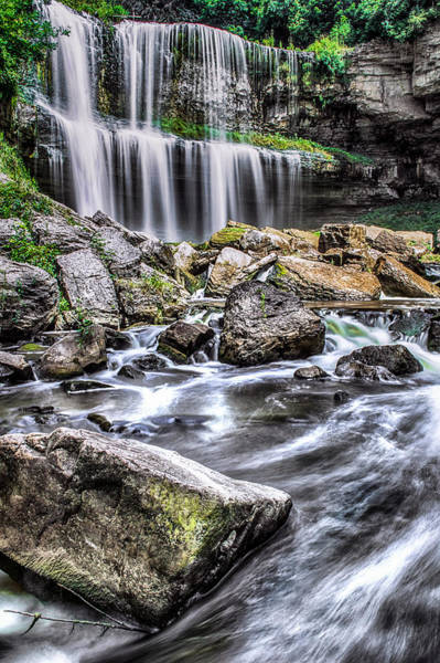 Photograph - Rushing Water by Garvin Hunter