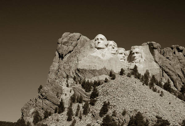 Photograph - Rushmore by Michael Kirk