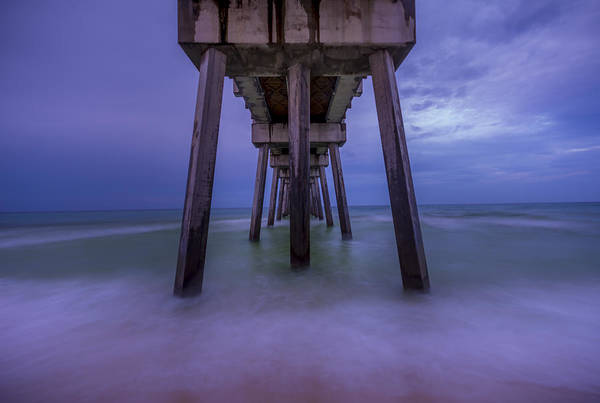 Photograph - Russell Fields Pier by David Morefield