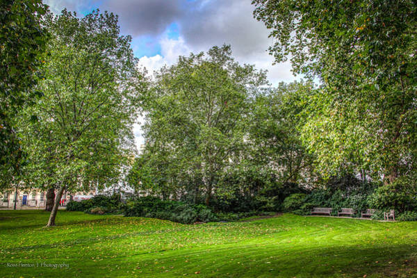 Photograph - Russell Square Gardens by Ross Henton