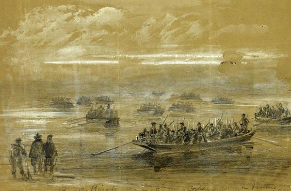 Brigade Drawing - Russells Brigade by Quint Lox