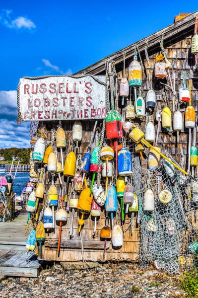 Clear Coat Wall Art - Photograph - Russell's Lobster Shack II by Jeff Donald