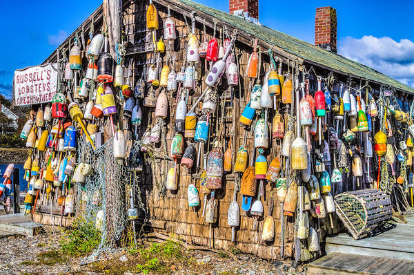 Clear Coat Wall Art - Photograph - Russell's Lobster Shack IIi by Jeff Donald
