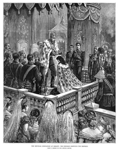 Wall Art - Painting - Russia Coronation, 1883 by Granger