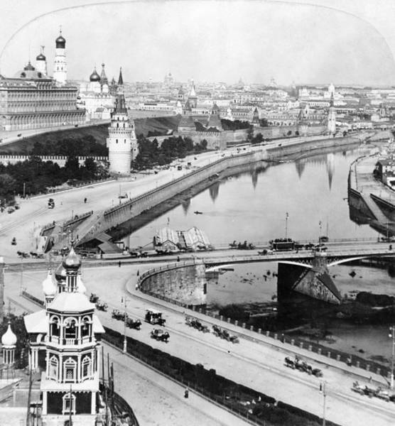 Painting - Russia Moscow, C1902 by Granger