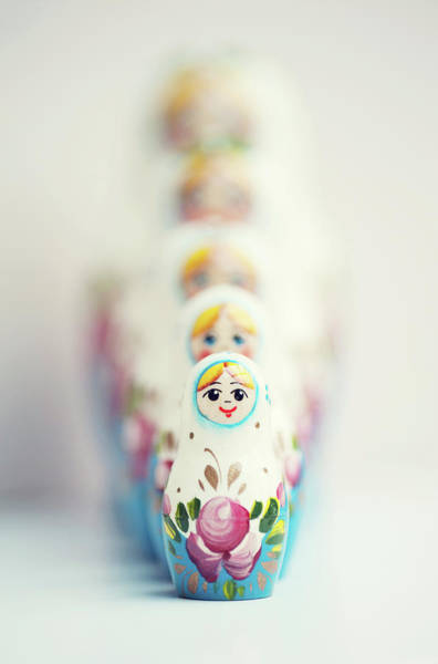 Nesting Photograph - Russian Dolls by Images By Christina Kilgour