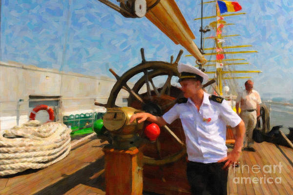 Mixed Media - Russian Sailor by Dale Powell