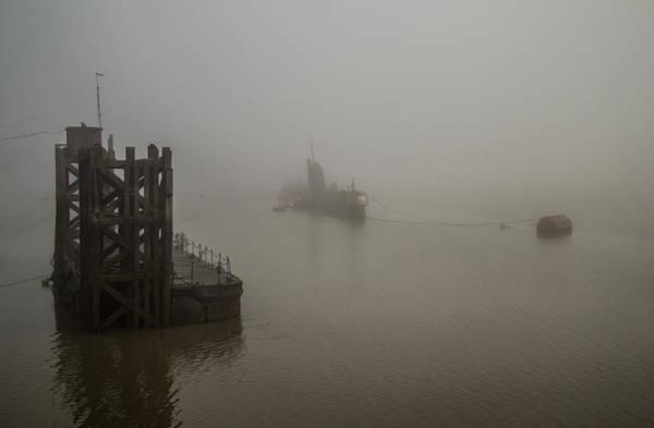 Medway Wall Art - Photograph - Russian Sub In Fog by Dawn OConnor