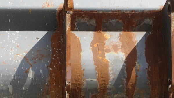 Photograph - Rust And Grey Shadows by Anita Burgermeister