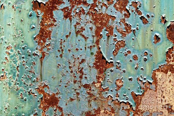 Photograph - Rust And Paint by Olivier Le Queinec