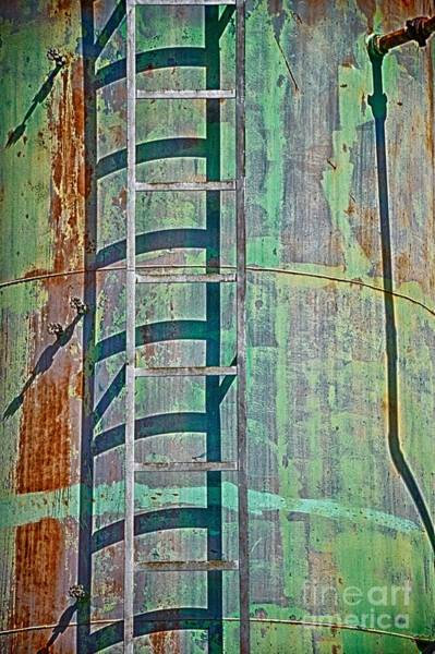 Photograph - Rust And Rungs by Ken Williams