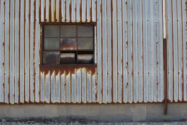 Photograph - Rust And Window 1 by Anita Burgermeister