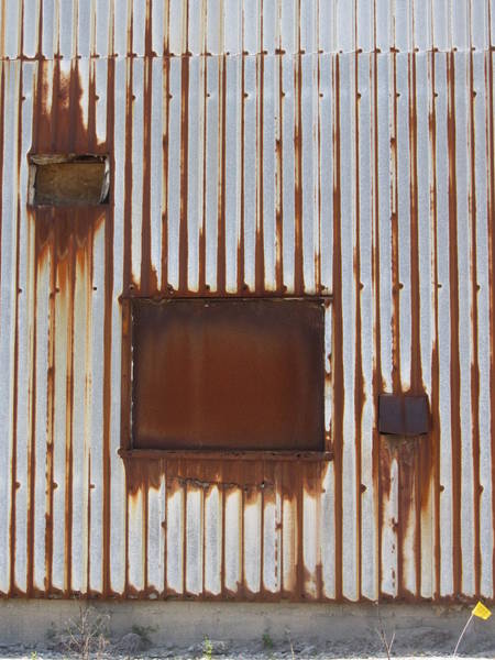 Photograph - Rust And Window 3 by Anita Burgermeister
