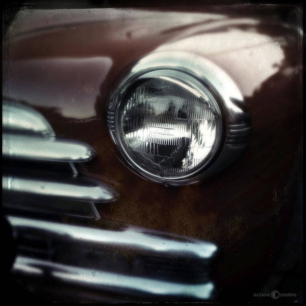 Photograph - Rust-colored Chevy by Tim Nyberg