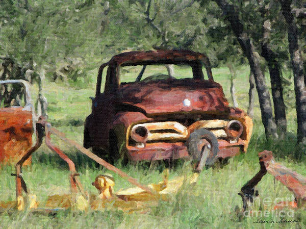 Painting - Rust In Peace No. 2 by Susan Schroeder
