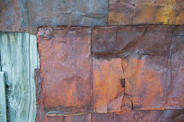 Photograph - Rust Squared by Fran Riley