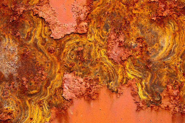 Photograph - Rust Topography by Rob Huntley