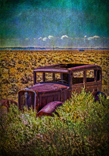 Photograph - Rusted And Busted by Judy Hall-Folde