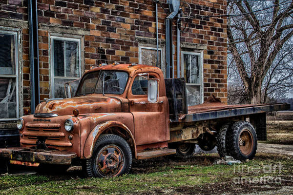 Photograph - Rusted Dodge by Jim McCain