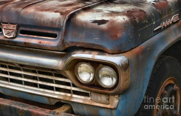 Photograph - Rusted Ford F-600 by Adam Jewell