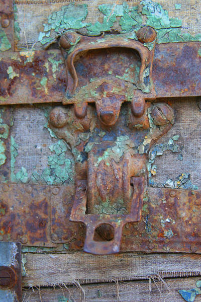 Photograph - Rusted Lock by Tony and Kristi Middleton