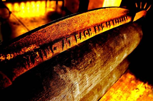 Photograph - Rusted Mangle by David Rich
