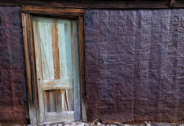 Bodie Ghost Town Wall Art - Photograph - Rusted Tin Exterior In Bodie by Kathleen Bishop