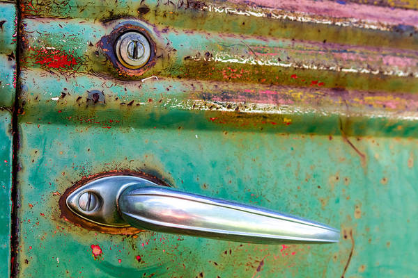Photograph - Rusted Tough by Teri Virbickis