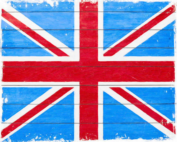 Digital Art - Rustic British Union Jack - Vintage Flag by Mark Tisdale