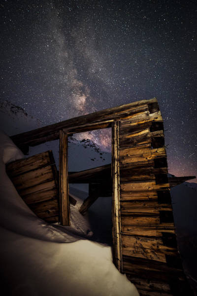 Copper Mountain Photograph - Rustic Cabin Open House In Mayflower Gulch by Mike Berenson