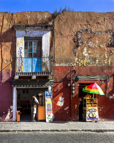 Wall Art - Photograph - Rustic Dining In Puebla Mexico by Mark Tisdale