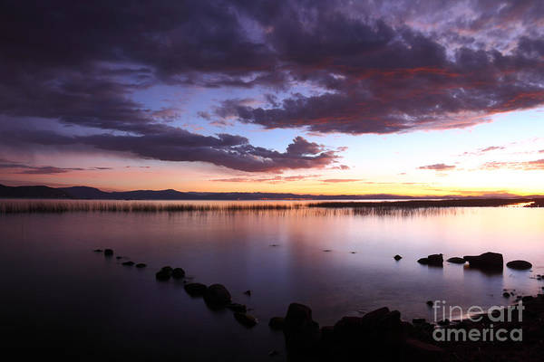 Photograph - Rustic Harbour Lake Titicaca by James Brunker