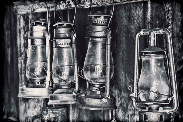 Wall Art - Photograph - Rustic Lanterns by Kelley King