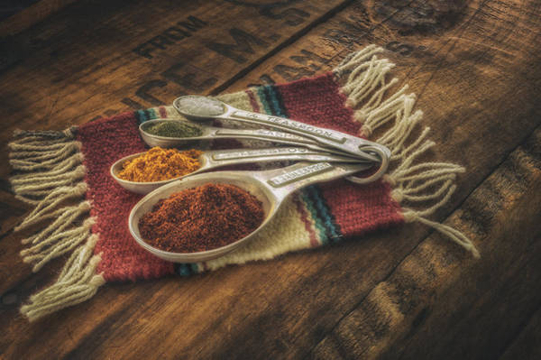 Indian Photograph - Rustic Spices by Scott Norris