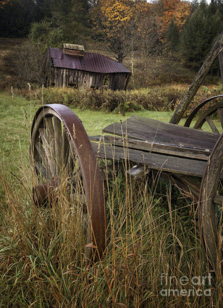 Wall Art - Photograph - Rustic Vermont Charm by T-S Fine Art Landscape Photography