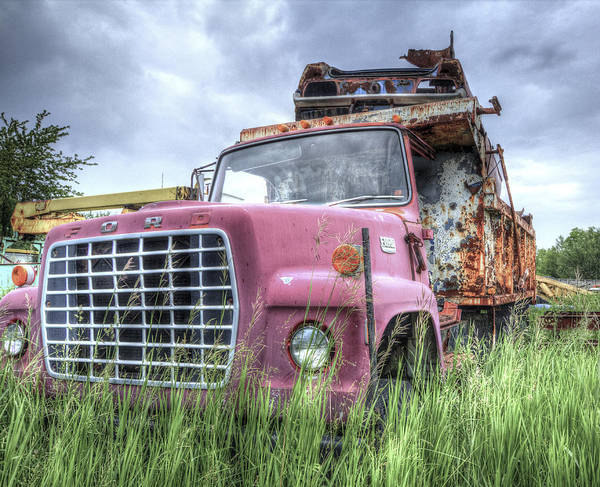 Photograph - Rusty And Crusty Ford by Nick Mares