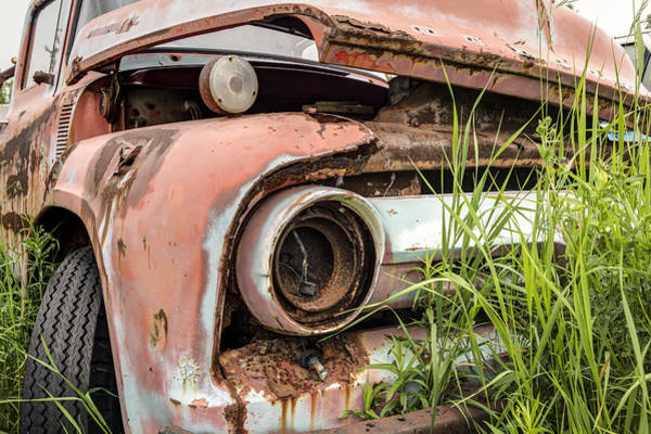 Photograph - Rusty And Crusty Truck by Nick Mares