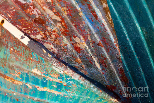 Wall Art - Photograph - Rusty Boat Hull by Katherine Gendreau