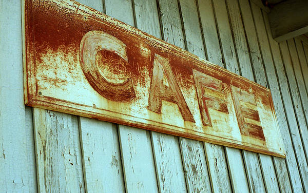 Photograph - Rusty Cafe by HW Kateley