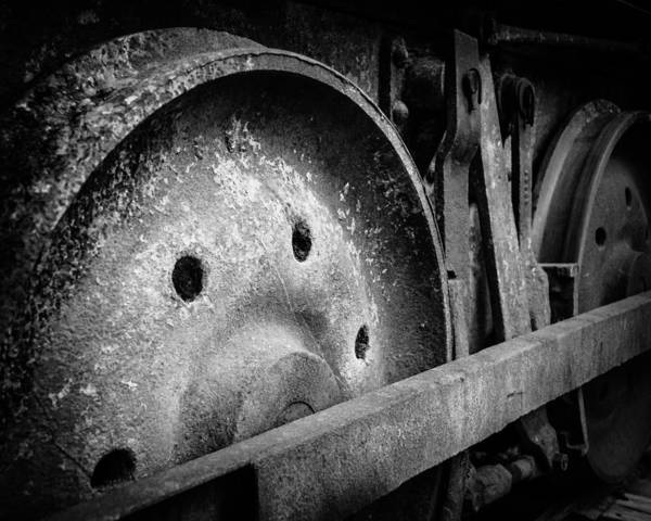 Kittitas County Wall Art - Photograph - Rusty Coal Mining Equipment No. 1 - Roslyn - Washington - 2008 by Steve G Bisig