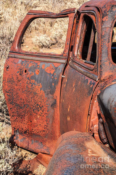 Photograph - Rusty Doors by Sue Smith