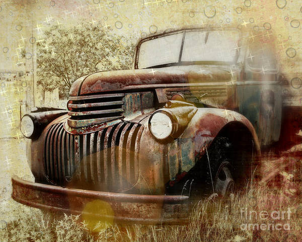 Wall Art - Photograph - Rusty Dreams by Perry Webster