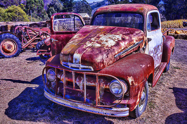 Wall Art - Photograph - Rusty Ford by Garry Gay