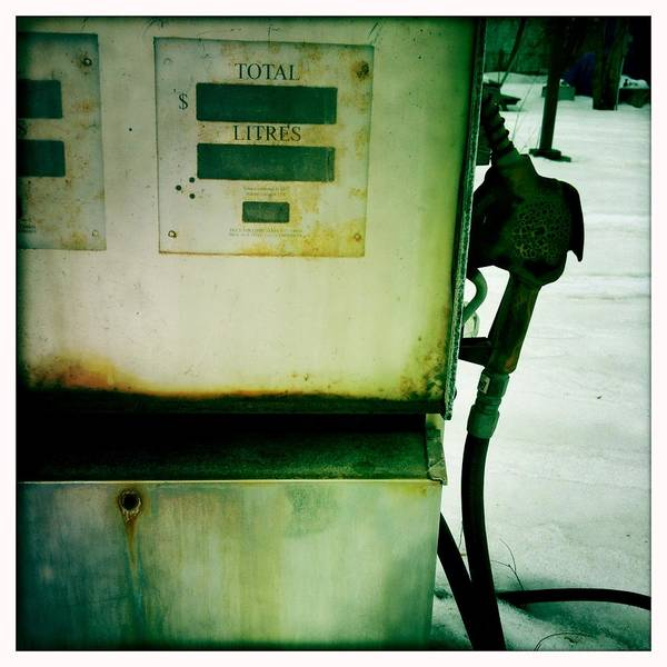 Pump Photograph - Rusty Gas Pump by Danielle Donders