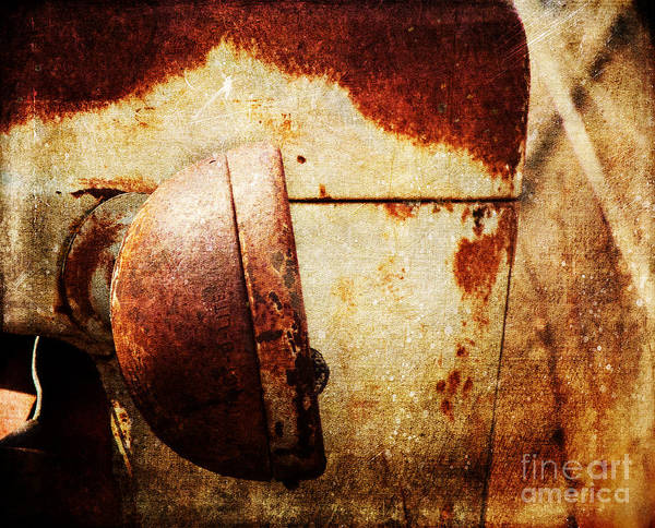 Rusty Headlamp Art Print