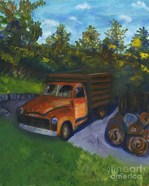 Wall Art - Painting - Rusty Hunk by Gloria Condon